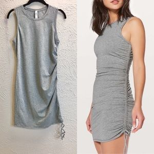 Lululemon cinch it dress gray Size 6